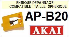 AKAI Platine APB20 AP-B20 Pointe diamant sphérique <small>13-08</small>