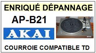AKAI-APB21 AP-B21-COURROIES-ET-KITS-COURROIES-COMPATIBLES