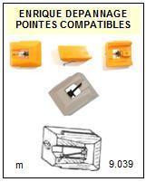 AKAI Platine APB21 AP-B21 Pointe diamant elliptique <br><small>sce 2014-02</small>