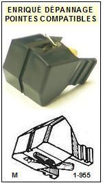 AKAI Platine APM10 AP-M10 Pointe diamant sphérique <BR><small>sc 2014-09</small>