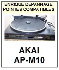AKAI-APM10  AP-M10-POINTES-DE-LECTURE-DIAMANTS-SAPHIRS-COMPATIBLES