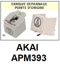 AKAI<br> APM393 AP-M393 Pointe (stylus) sphérique pour tourne-disques <small> 2015-09</small>
