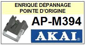 AKAI-APM394 AP-M394-POINTES-DE-LECTURE-DIAMANTS-SAPHIRS-COMPATIBLES