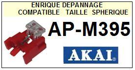 AKAI<br> APM395 AP-M395 Pointe sphérique pour tourne-disques <BR><small>sc 2015-01</small>
