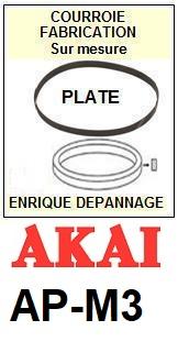 AKAI-APM3 AP-M3-COURROIES-ET-KITS-COURROIES-COMPATIBLES