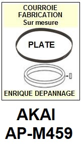 AKAI-APM459 AP-M459-COURROIES-ET-KITS-COURROIES-COMPATIBLES