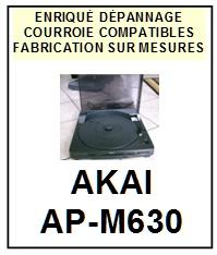 AKAI-APM630 AP-M630-COURROIES-COMPATIBLES