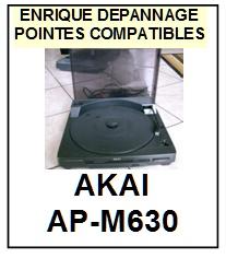 AKAI-APM630 AP-M630-POINTES-DE-LECTURE-DIAMANTS-SAPHIRS-COMPATIBLES
