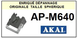 AKAI-APM640 AP-M640-POINTES-DE-LECTURE-DIAMANTS-SAPHIRS-COMPATIBLES