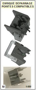 AKAI-APM670 AP-M670 (2°MONTAGE)-POINTES-DE-LECTURE-DIAMANTS-SAPHIRS-COMPATIBLES
