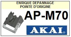 AKAI platine APM70 AP-M70 Pointe de lecture d Origine<br> <SMALL>c-pos 2014-03</SMALL>