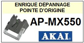 AKAI-APMX550 AP-MX550-POINTES-DE-LECTURE-DIAMANTS-SAPHIRS-COMPATIBLES