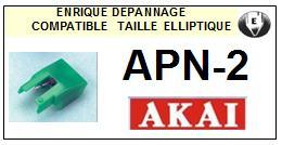 AKAI<br> APN2 APN-2 Pointe Diamant Elliptique <br><small>se 2015-04</small>