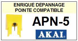 AKAI-APN5 APN-5-POINTES-DE-LECTURE-DIAMANTS-SAPHIRS-COMPATIBLES
