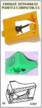 AKAI<BR> APQ50 AP-Q50 Pointe elliptique pour tourne-disques <BR><small>se 2015-01</small>