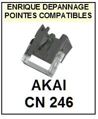 AKAI-CN246-POINTES-DE-LECTURE-DIAMANTS-SAPHIRS-COMPATIBLES