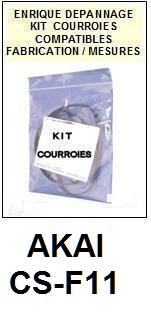 AKAI-CSF11 CS-F11-COURROIES-ET-KITS-COURROIES-COMPATIBLES