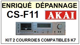 AKAI-CSF11 CS-F11-COURROIES-COMPATIBLES
