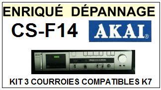 AKAI-CSF14 CS-F14-COURROIES-ET-KITS-COURROIES-COMPATIBLES