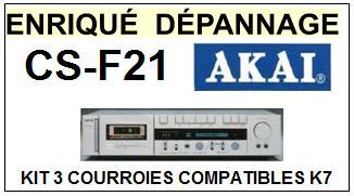 AKAI-CSF21 CS-F21-COURROIES-ET-KITS-COURROIES-COMPATIBLES