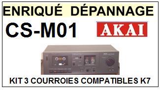 AKAI-CSM01 CS-M01-COURROIES-COMPATIBLES