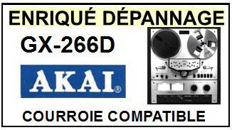 AKAI-GX266D GX-266D-COURROIES-ET-KITS-COURROIES-COMPATIBLES