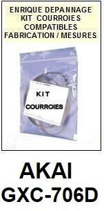 AKAI-GXC706D GXC-706D-COURROIES-ET-KITS-COURROIES-COMPATIBLES