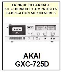 AKAI-GXC725D GXC-725D-COURROIES-COMPATIBLES