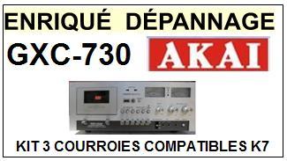 AKAI-GXC730 GXC-730-COURROIES-ET-KITS-COURROIES-COMPATIBLES