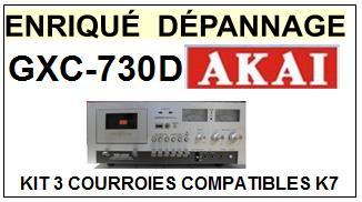 AKAI-GXC730D GXC-730D-COURROIES-ET-KITS-COURROIES-COMPATIBLES