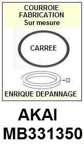 FICHE-DE-VENTE-COURROIES-COMPATIBLES-AKAI-MB331350