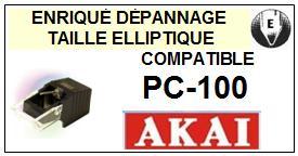 AKAI <br>PC100 PC-100 Pointe Diamant Elliptique <br><small>se 2015-04</small>