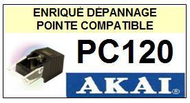 AKAI  PC120    Pointe de lecture compatible Diamant sphérique