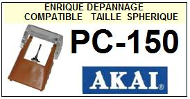AKAI-PC150 PC-150-POINTES-DE-LECTURE-DIAMANTS-SAPHIRS-COMPATIBLES