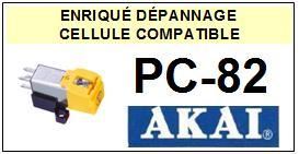 AKAI PC82 PC-82 Cellule avec diamant Elliptique <SMALL> 13-07</small>