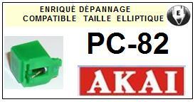 AKAI PC82 PC-82 Pointe Diamant Elliptique <br><small>se+cel 2014-03</small>