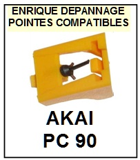 AKAI-PC90 PC-90-POINTES-DE-LECTURE-DIAMANTS-SAPHIRS-COMPATIBLES
