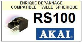 AKAI RS100  Pointe Diamant sphérique <BR><small>se 2014-04</small>