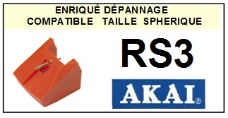 AKAI-RS3-POINTES-DE-LECTURE-DIAMANTS-SAPHIRS-COMPATIBLES