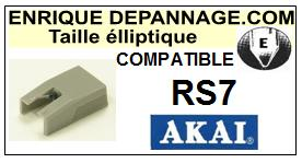 AKAI-RS7-POINTES-DE-LECTURE-DIAMANTS-SAPHIRS-COMPATIBLES