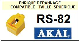 AKAI-RS82 RS-82-POINTES-DE-LECTURE-DIAMANTS-SAPHIRS-COMPATIBLES