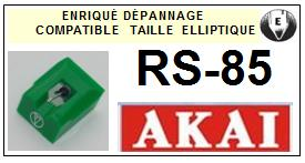 AKAI RS85 RS-85 Pointe Diamant Elliptique <br><small>se 2014-08</small>