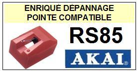 AKAI-RS85 RS-85-POINTES-DE-LECTURE-DIAMANTS-SAPHIRS-COMPATIBLES