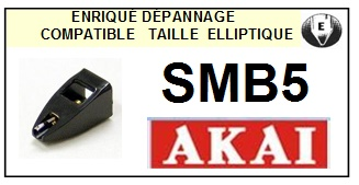 AKAI SMB5 <br>Pointe Diamant Elliptique (stylus)<small> 2015-10</small>