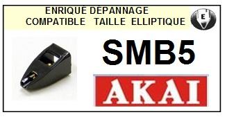 AKAI-SMB5-POINTES-DE-LECTURE-DIAMANTS-SAPHIRS-COMPATIBLES