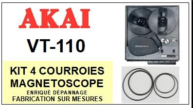 AKAI-VT110 VT-110-COURROIES-ET-KITS-COURROIES-COMPATIBLES