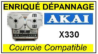 AKAI-X330-COURROIES-ET-KITS-COURROIES-COMPATIBLES