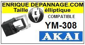 AKAI-YM308-POINTES-DE-LECTURE-DIAMANTS-SAPHIRS-COMPATIBLES