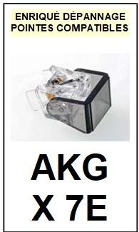 AKG-X7E-POINTES-DE-LECTURE-DIAMANTS-SAPHIRS-COMPATIBLES