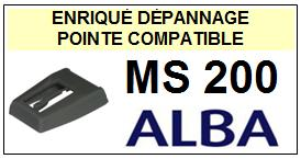 ALBA-MS200  MS-200-POINTES-DE-LECTURE-DIAMANTS-SAPHIRS-COMPATIBLES